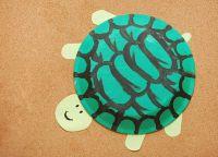 как сделать черепаху из бумаги 19