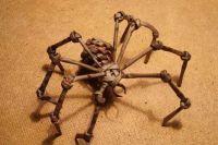 как сделать из бумаги паука 17