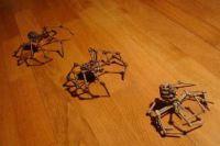 как сделать из бумаги паука 20