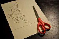 как сделать из бумаги паука 3