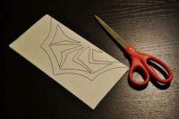 как сделать из бумаги паука4