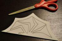 как сделать из бумаги паука5