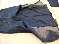 как сшить юбку из джинсов6