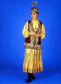 казахский народный костюм 4