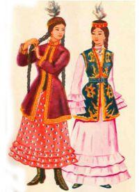 казахский народный костюм 9