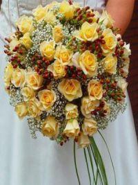 осенний букет невесты 3