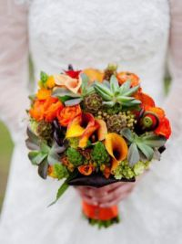 осенний букет невесты 5