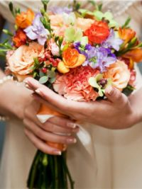осенний букет невесты 7