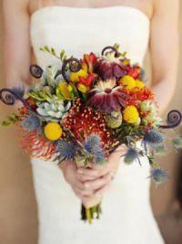 осенний букет невесты 8