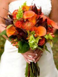 осенний букет невесты 9