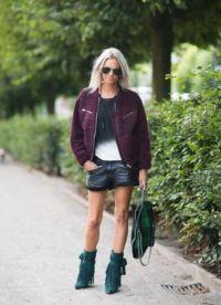 С чем носить зеленые сапоги 9