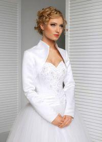 Свадебное болеро с длинным рукавом 2