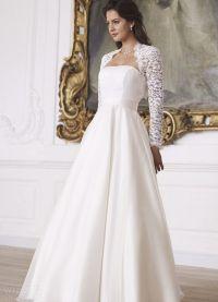 Свадебное болеро с длинным рукавом 8