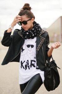 одежда в стиле рок-н-ролл 1