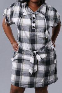 Платье сафари для полных 9