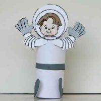 поделка космонавт 14