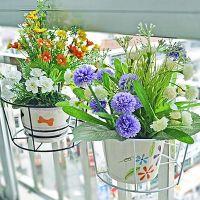 Подставки для цветов на подоконник11