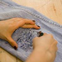 рваные джинсы своими руками5