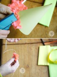 Как сделать колпак из бумаги16