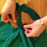 Как сделать майку из футболки29