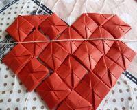 Как сделать сердце из модулей5
