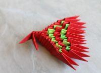 Модульное оригами - дракон40