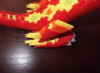 Модульное оригами - дракон54