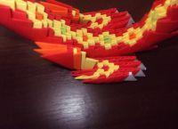 Модульное оригами - дракон55
