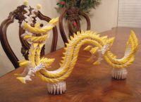 Модульное оригами - дракон58