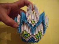 Модульное оригами - конфетница28