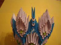 Модульное оригами - конфетница30