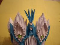 Модульное оригами - конфетница31