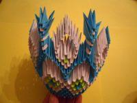 Модульное оригами - конфетница34