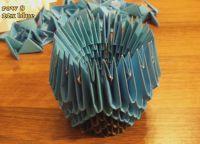 модульное оригами сова9