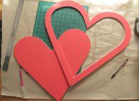 сердце из гофрированной бумаги1