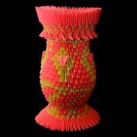 ваза из модулей