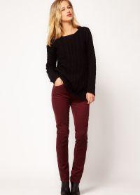 женские вельветовые брюки 6