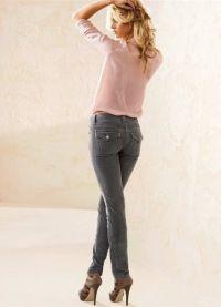 женские вельветовые брюки 7