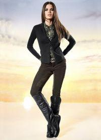 женские вельветовые брюки 8