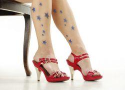 звезды на ногах