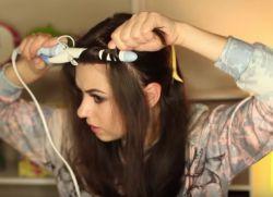 легкие прически с кудрями на длинные волосы 3