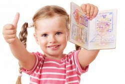 как оформить загранпаспорт ребенку до 14 лет