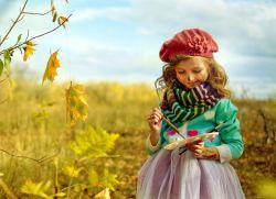 осень рисунки детей красками