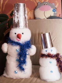 новогодние поделки своими руками для детского сада 28
