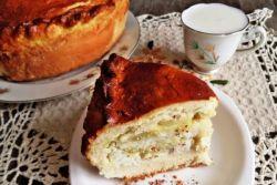 пирог из дрожжевого теста в духовке