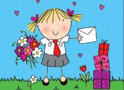 день учителя открытка своими руками