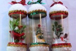 новогодние поделки из <em>поделка</em> пластиковых бутылок