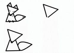 как нарисовать лису 14