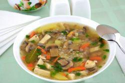 суп с гречкой рецепт