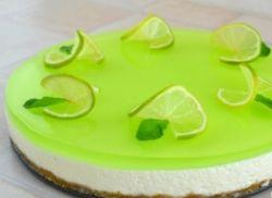желейный торт со сметаной без выпечки